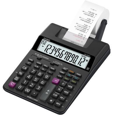 Calculadora de Impressão Casio HR-100RC-BK Preta