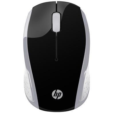 Mouse HP Sem Fio X200 Oman Cinza