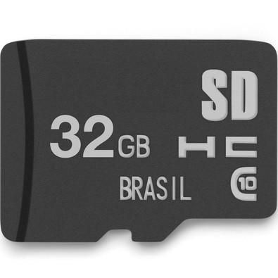 Cartão de Memória Multilaser Classe 10 32GB - MC145