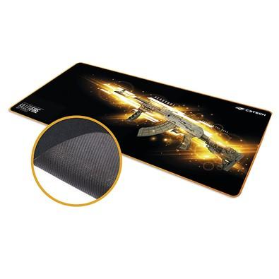 Mousepad Gamer C3 Tech Killer Fire, Control, Extra Grande (700x300mm) - MP-G1000