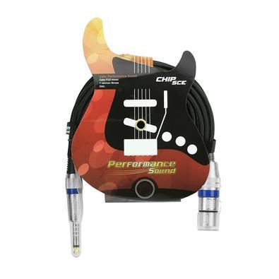 Cabo Performance Sound P10 Mono + Cannon Fêmea 5m Performance Sound 018-8013
