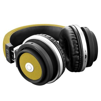 Headphone Bluetooth Pulse Preto e Amarelo PH233