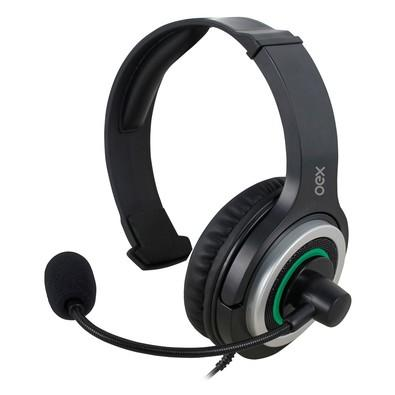 Headset Oex Game P2/P3 Army Verde - HS408
