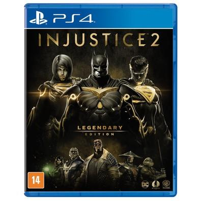 Jogo Injustice 2 - Legendary Edition - Playstation 4 - Warner Bros Interactive Entertainment