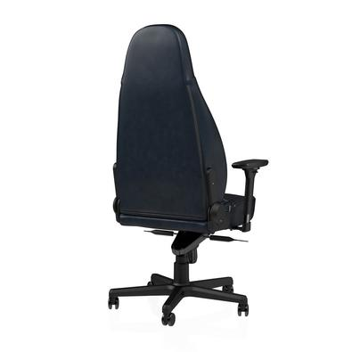 Cadeira Gamer Noblechairs ICON Leather, Midnight Blue Graphite - NBL-ICN-RL-MBG