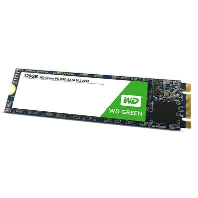 SSD WD Green, 120GB, M.2, Leitura 545MB/s - WDS120G2G0B