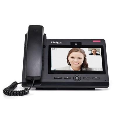Telefone IP Intelbras c/ Fio 6 Contas SIP Interface Gigabit PoE TIP-638V