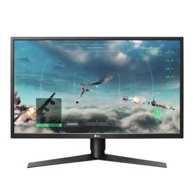 Monitor Gamer LG LED 27´ Widescreen, Full HD, HDMI/Display Port, FreeSync, 240Hz, 1ms, Altura Ajustável - 27GK750F-B