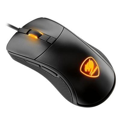 Mouse Gamer Cougar 7200DPI 6 Botões com LED Preto Surpassion