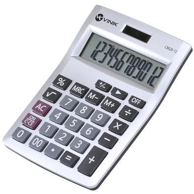 Calculadora de Mesa Vinik 12 Dígitos CM20 - 26085 Branca