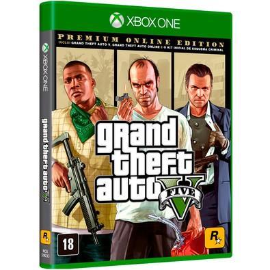 Game GTA V Premium Online Edition Xbox One
