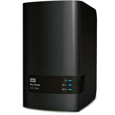 Storage WD NAS My Cloud Expert Series EX2 Ultra 2-Bay Sem Disco - WDBVBZ0000NCH-LESN
