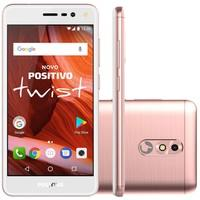 Smartphone Positivo Twist 2018 S511,16GB, 8MP, Tela 5´, Rosa