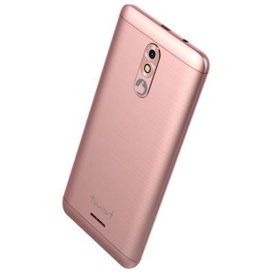 Smartphone Positivo Twist 2018 S511,16GB, 8MP, Tela 5´, Rosa