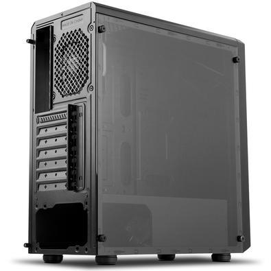 Gabinete NOX INFINITY ATOM Painel Lateral em Vidro Temperado, 1 FAN RGB, Controlador de RGB, USB 3.0 NXINFINTYATOM