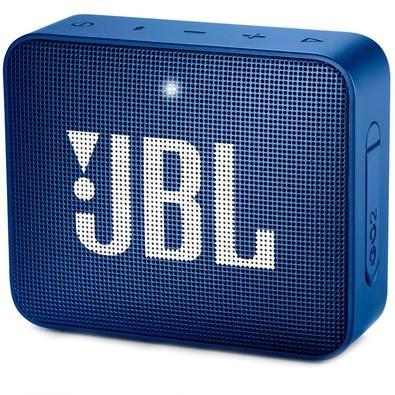 Caixa de Som JBL Go 2, Bluetooth, À Prova D´Água, 3.1W, Azul