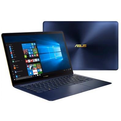 Notebook Asus ZenBook 3 Deluxe, Intel Core i7-8550U, 16GB, SSD 512GB, Windows 10 Home, 14´, Azul Escuro - UX490UAR-BE088T