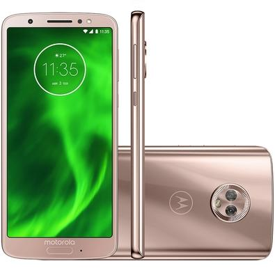 Smartphone Motorola Moto G6, 64GB, 12MP, Tela 5.7´, Ouro Rosê - XT1925