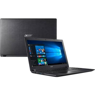 Notebook Acer Intel Core i3-8130U, RAM 4GB, HD 1TB, 15.6´, Windows 10 Home, Preto - A315-51-30V4
