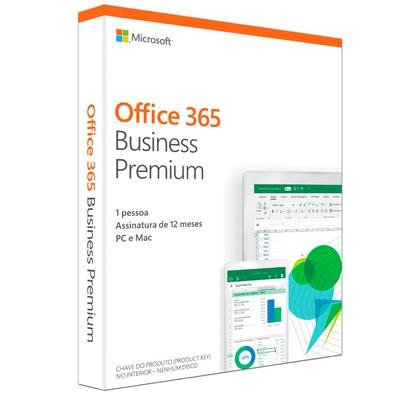 Microsoft Office 365 Business Premium 5 PCs KLQ-00412