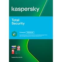 Kaspersky Antivírus Total Security 2020 Multidispositivos 5 PCs - Digital para Download