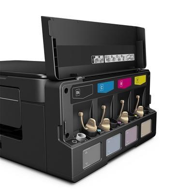 Multifuncional Epson Jato de Tinta, Colorida, 110V - EcoTank L495