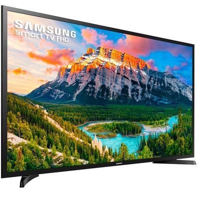 Smart TV LED 40´ Full HD Samsung, 2 HDMI, USB, Wi-Fi - UN40J5290AGXZD