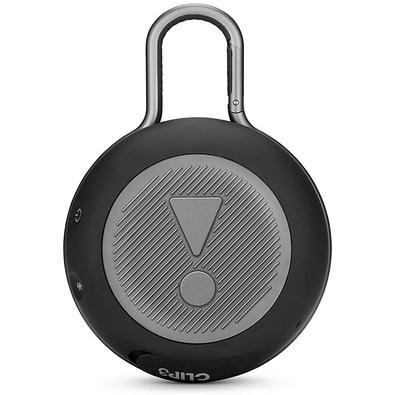 Caixa de Som JBL Clip 3, Bluetooth, À Prova D´Água, 1x3W, Preto