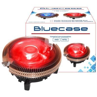 Cooler Bluecase Universal para AMD e Intel, LED Vermelho - BC02UARCASE