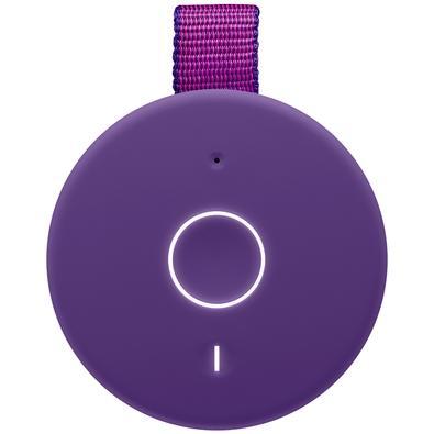 Caixa de Som Bluetooth Ultimate Ears BOOM 3 Portátil e À Prova D´Água - Até 15 horas de Bateria - Roxa