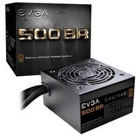 Fonte EVGA 500W, 80 Plus Bronze - 100-BR-0500-K