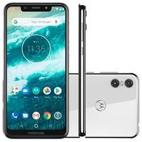 Smartphone Motorola One, 64GB, 13MP, Tela 5.9´, Branco - XT1941-3