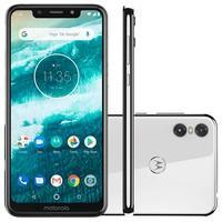 Smartphone Motorola Moto One, 64GB, 13MP, Tela 5.9´, Branco - XT1941-3