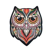 Mousepad Reliza Decor ColorFun Owl Color, 280x240x5mm