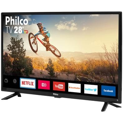 Smart TV LED 28´ Philco, Conversor Digital, 2 HDMI, USB, Wi-Fi - PTV28G50SN