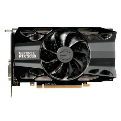 Placa de Vídeo EVGA NVIDIA GeForce RTX 2060 XC Black Gaming 6GB, GDDR6 - 06G-P4-2061-KR