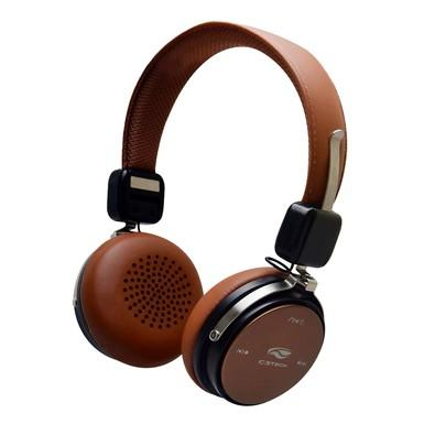 Headphone C3 Tech Bluetooth 4.2, Marrom - PH-B600BW