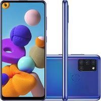 Smartphone Samsung Galaxy A21s 64GB, 3GB RAM, Azul