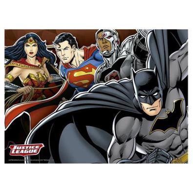 Quebra-Cabeça Liga da Justiça DC Comics