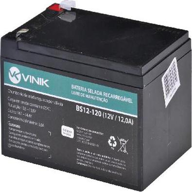 Bateria 12V 12A Selada Vlca Bs12-120