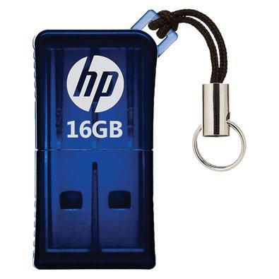 Pendrive 16GB HP HPFD165W2-16 V165W USB 2.0 Azul