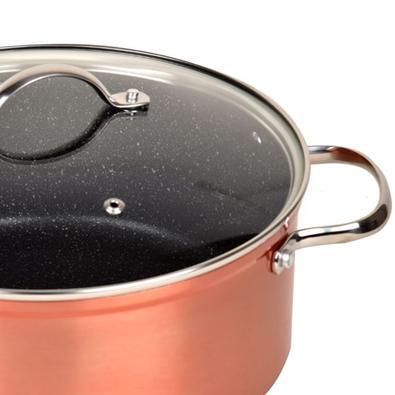 Caçarola Antiaderente 24cm Excellence Kitchen Pro Cobre