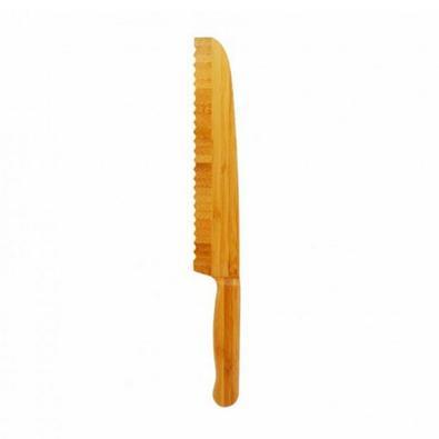 Faca para Pão em Bambu 32cm i Genietti