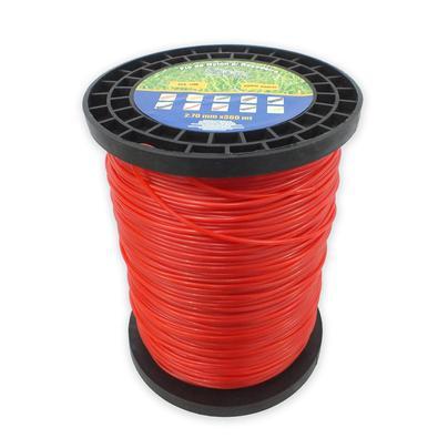 Fio de Nylon Spin Rolo 2,70mm 2kg 317 Metros Vermelho Fio de Nylon Spin Rolo 2.70mm 2kg 317 Metros Vermelho