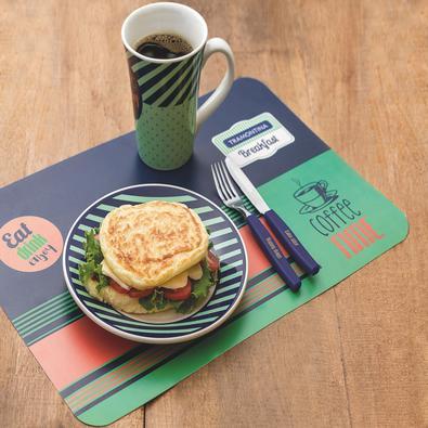 Kit para Café da Manhã Tramontina Breakfast em Polipropileno e Cerâmica Tramontina