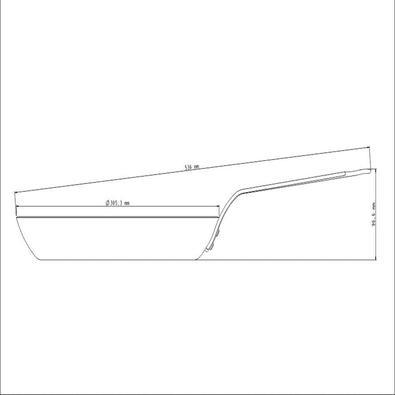 Bistequeira Tramontina Profissional de Ferro 30 cm 2,4 L Tramontina
