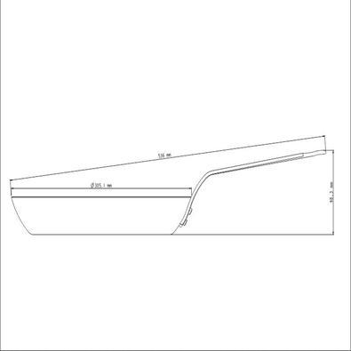 Frigideira Tramontina Profissional de Ferro 30 cm 2,5 L Tramontina