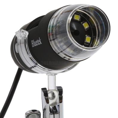 Microscópio Digital Usb Zoom 800x luz led Camera 2.0 MP foto e vídeo MC800