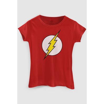 Camiseta Feminina The Flash (Tam P)