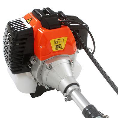 Roçadeira Lateral A Gasolina 52cc aparador Cortador de Mato e Grama Rg52cc tssaper